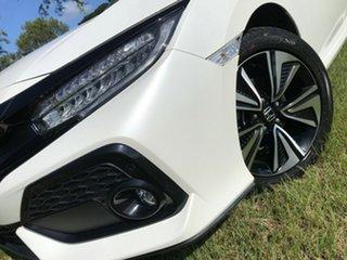 2017 Honda Civic 10th Gen MY17 VTi-LX White 1 Speed Constant Variable Hatchback