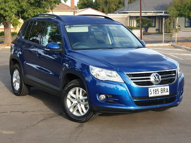 Used Volkswagen Tiguan 5N MY10 103TDI 4MOTION, 2010 Volkswagen Tiguan 5N MY10 103TDI 4MOTION Blue 6 Speed Sports Automatic Wagon