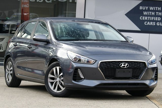 Used Hyundai i30 PD2 Update Active, 2018 Hyundai i30 PD2 Update Active Grey 6 Speed Auto Sequential Hatchback