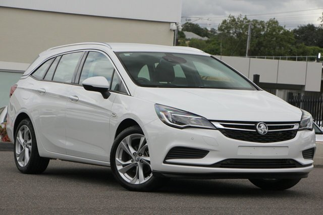 Used Holden Astra BK MY18 LT Sportwagon, 2018 Holden Astra BK MY18 LT Sportwagon White 6 Speed Sports Automatic Wagon