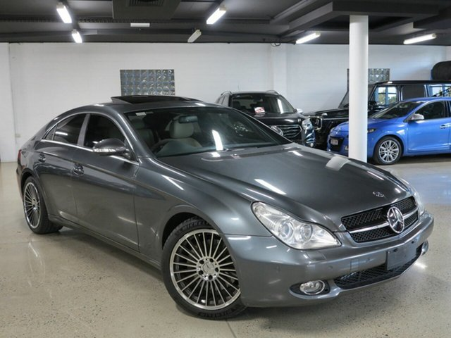 Used Mercedes-Benz CLS-Class C219 MY08 CLS350 Coupe Designo, 2008 Mercedes-Benz CLS-Class C219 MY08 CLS350 Coupe Designo Grey 7 Speed Sports Automatic Sedan