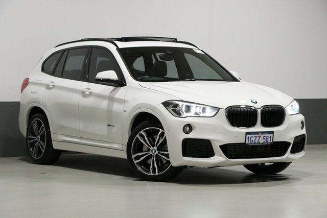 Used BMW X1 F48 MY18 xDrive 25i M Sport, 2017 BMW X1 F48 MY18 xDrive 25i M Sport White 8 Speed Automatic Wagon