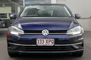 2017 Volkswagen Golf 7.5 MY18 110TSI DSG Comfortline Dark Blue 7 Speed Sports Automatic Dual Clutch