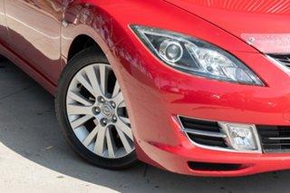 2008 Mazda 6 GH1051 Classic Red 5 Speed Sports Automatic Sedan