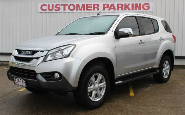 Used Isuzu MU-X MY14 LS-U, 2013 Isuzu MU-X MY14 LS-U Silver 5 Speed Manual Wagon
