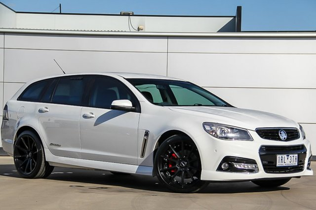 Used Holden Commodore VF MY15 SS Sportwagon Storm, 2015 Holden Commodore VF MY15 SS Sportwagon Storm Heron White 6 Speed Sports Automatic Wagon
