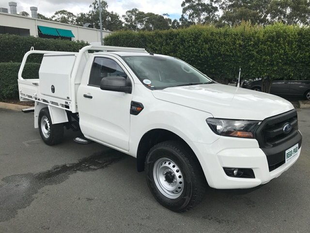 Used Ford Ranger PX MkII XL, 2015 Ford Ranger PX MkII XL White 6 speed Automatic Cab Chassis