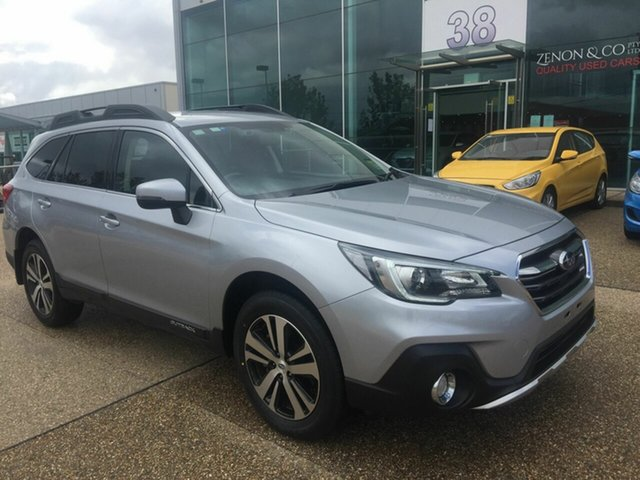 Used Subaru Outback B6A MY18 2.5i CVT AWD, 2018 Subaru Outback B6A MY18 2.5i CVT AWD Silver 7 Speed Constant Variable Wagon