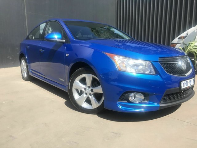 Used Holden Cruze JH MY12 SRi, 2011 Holden Cruze JH MY12 SRi Blue 6 Speed Automatic Sedan