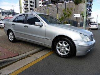 2003 Mercedes-Benz C180 W203 Kompressor Classic Silver 5 Speed Auto Tipshift Sedan.