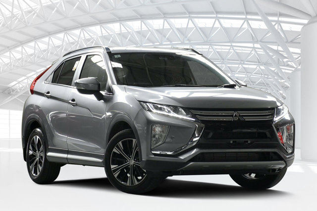 Used Mitsubishi Eclipse Cross YA LS (2WD), 2018 Mitsubishi Eclipse Cross YA LS (2WD) Grey Continuous Variable Wagon