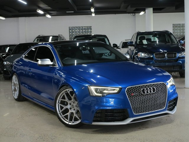 Used Audi RS5 8T MY14 S Tronic Quattro, 2013 Audi RS5 8T MY14 S Tronic Quattro Sepang Blue 7 Speed Sports Automatic Dual Clutch Coupe