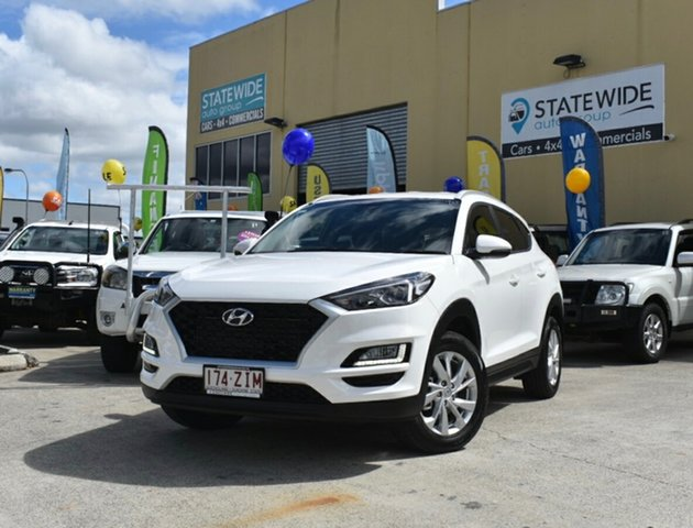 Used Hyundai Tucson TL4 MY20 Active (2WD), 2019 Hyundai Tucson TL4 MY20 Active (2WD) White 6 Speed Automatic Wagon