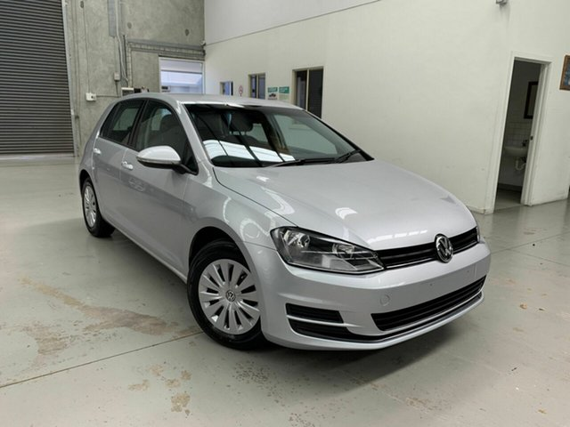 Used Volkswagen Golf VII MY16 92TSI DSG Trendline, 2016 Volkswagen Golf VII MY16 92TSI DSG Trendline Silver 7 Speed Sports Automatic Dual Clutch