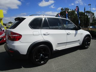 2009 BMW X5 E70 MY09 xDrive30d Steptronic Executive White 6 Speed Sports Automatic Wagon