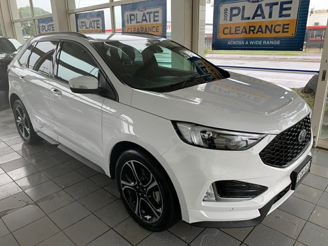 Demo Ford Endura CA 2019MY ST-Line SelectShift FWD, 2019 Ford Endura CA 2019MY ST-Line SelectShift FWD Oxford White 8 Speed Sports Automatic Wagon