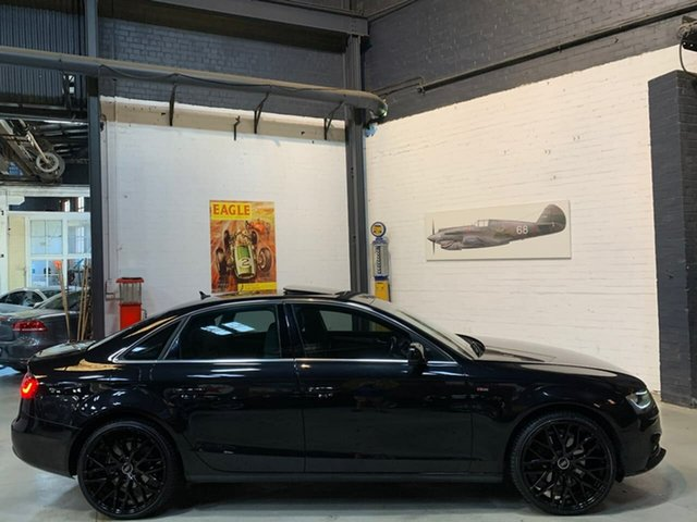 Used Audi A4 B8 8K MY14 S Tronic Quattro, 2014 Audi A4 B8 8K MY14 S Tronic Quattro Black 7 Speed Sports Automatic Dual Clutch Sedan
