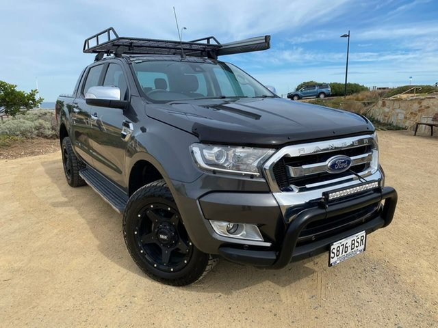 Used Ford Ranger PX MkII XLT, 2017 Ford Ranger PX MkII XLT Grey 6 Speed Manual Utility