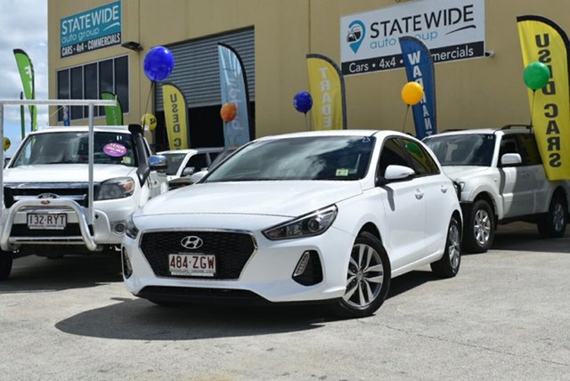 Used Hyundai i30 PD2 MY20 Active, 2019 Hyundai i30 PD2 MY20 Active White 6 Speed Automatic Hatchback