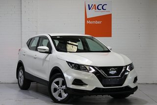 2018 Nissan Qashqai J11 Series 2 ST X-tronic White 1 Speed Constant Variable Wagon.