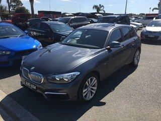 2015 BMW 1 Series F20 LCI 118d Steptronic Urban Line Metal Grey 8 Speed Sports Automatic Hatchback.