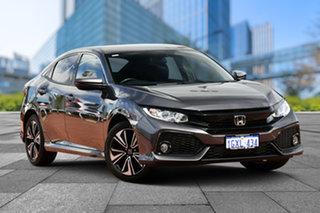 2019 Honda Civic 10th Gen MY19 VTi-L Modern Steel 1 Speed Constant Variable Hatchback.