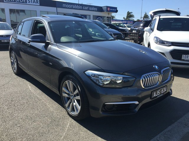 Used BMW 1 Series F20 LCI 118d Steptronic Urban Line, 2015 BMW 1 Series F20 LCI 118d Steptronic Urban Line Metal Grey 8 Speed Sports Automatic Hatchback
