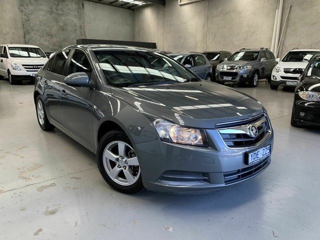 Used Holden Cruze JG CD, 2011 Holden Cruze JG CD Grey 6 Speed Sports Automatic Sedan