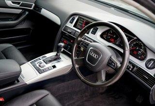 2010 Audi A6 4F MY10 Multitronic Grey Metallic 1 Speed Constant Variable Sedan