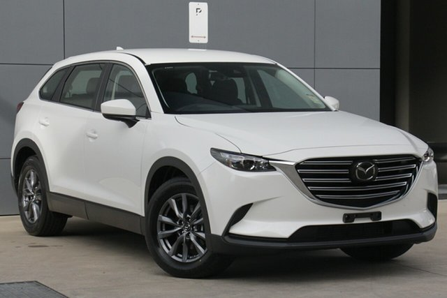 New Mazda CX-9 TC Sport SKYACTIV-Drive Hindmarsh, 2021 Mazda CX-9 TC Sport SKYACTIV-Drive Snowflake White 6 Speed Sports Automatic Wagon