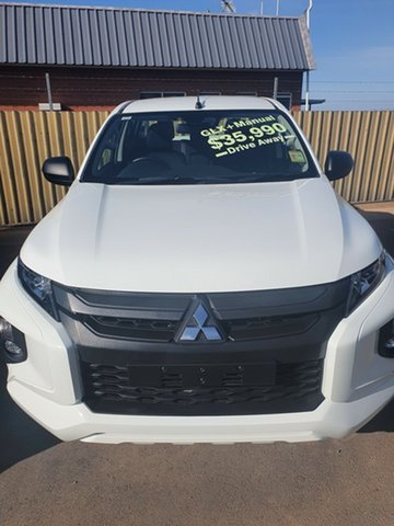 New Mitsubishi Triton  , 2019 Mitsubishi Triton GLX+ White 6 Speed Manual Dual Cab
