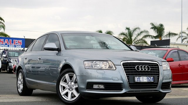 Used Audi A6 4F MY10 Multitronic, 2010 Audi A6 4F MY10 Multitronic Grey Metallic 1 Speed Constant Variable Sedan