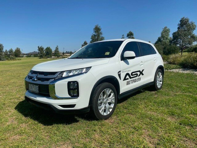 Demo Mitsubishi ASX  , 2019 Mitsubishi ASX ES White Continuous Variable Wagon