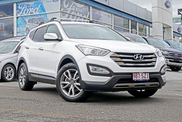Used Hyundai Santa Fe DM MY13 Elite, 2012 Hyundai Santa Fe DM MY13 Elite White 6 Speed Sports Automatic Wagon
