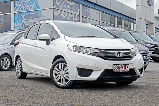 Used Honda Jazz GF MY16 VTi, 2016 Honda Jazz GF MY16 VTi White 1 Speed Constant Variable Hatchback