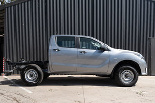 2020 Mazda BT-50 UR0YG1 XT Aluminium 6 Speed Sports Automatic Cab Chassis.