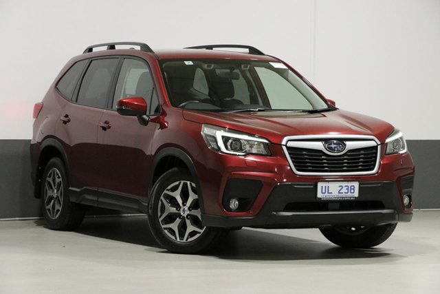 Used Subaru Forester MY19 2.5I-L (AWD), 2018 Subaru Forester MY19 2.5I-L (AWD) Crimson Red Continuous Variable Wagon