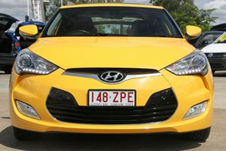 2013 Hyundai Veloster FS2 + Coupe D-CT Yellow 6 Speed Sports Automatic Dual Clutch Hatchback