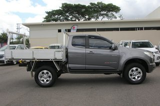 2013 Holden Colorado RG MY13 LX Space Cab Grey 5 Speed Manual Cab Chassis.