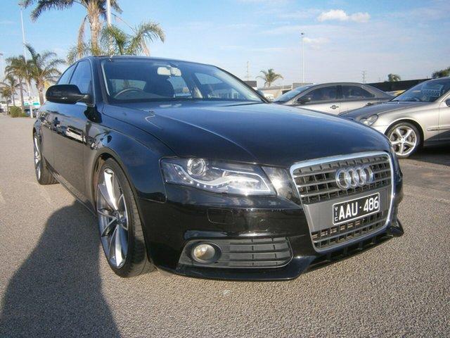 Used Audi A4 B8 8K MY10 Multitronic, 2010 Audi A4 B8 8K MY10 Multitronic Black 8 Speed Constant Variable Sedan