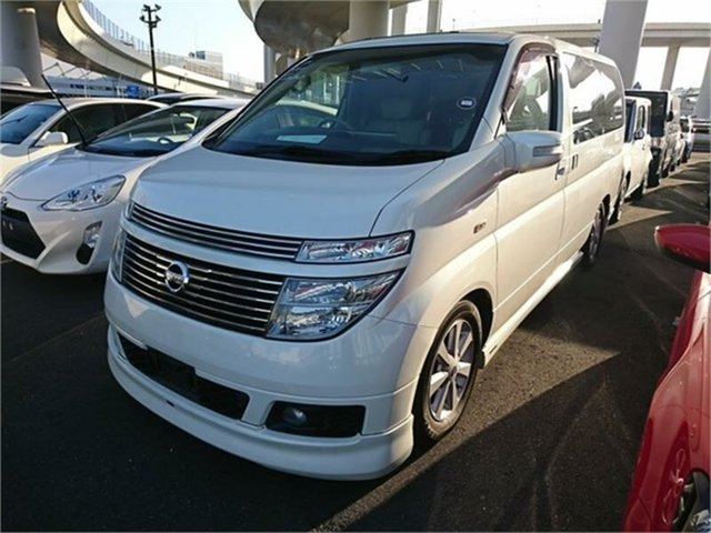 Used Nissan Elgrand E51 XL, 2003 Nissan Elgrand E51 XL White Automatic Wagon