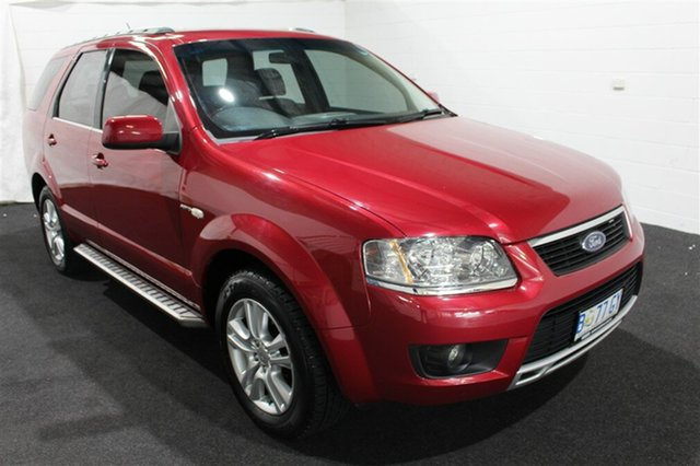 Used Ford Territory SY MkII TS AWD, 2010 Ford Territory SY MkII TS AWD Red 6 Speed Sports Automatic Wagon