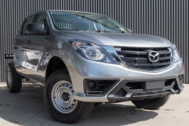 New Mazda BT-50 UR0YG1 XT, 2020 Mazda BT-50 UR0YG1 XT Aluminium 6 Speed Sports Automatic Cab Chassis