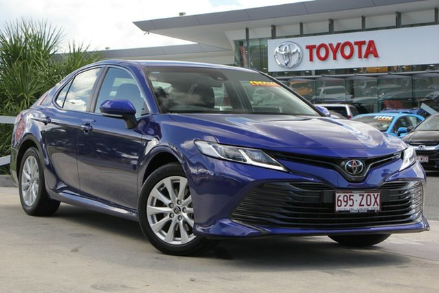 Used Toyota Camry ASV70R Ascent, 2019 Toyota Camry ASV70R Ascent Lunar Blue 6 Speed Sports Automatic Sedan