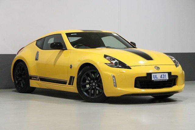 Used Nissan 370Z Z34 MY18 N-Sport, 2018 Nissan 370Z Z34 MY18 N-Sport Yellow 7 Speed Automatic Coupe