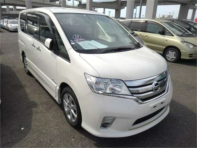 Used Nissan Serena  Highway Star, 2013 Nissan Serena Highway Star White Automatic