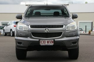 2013 Holden Colorado RG MY13 LX Space Cab Grey 5 Speed Manual Cab Chassis