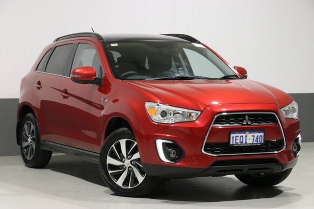 Used Mitsubishi ASX XB MY15 XLS (2WD), 2014 Mitsubishi ASX XB MY15 XLS (2WD) Red Continuous Variable Wagon