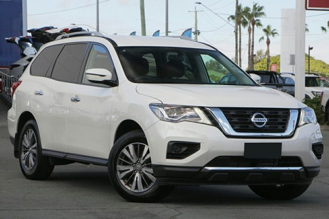 New Nissan Pathfinder R52 Series III MY19 ST X-tronic 2WD, 2019 Nissan Pathfinder R52 Series III MY19 ST X-tronic 2WD Ivory Pearl 1 Speed Constant Variable
