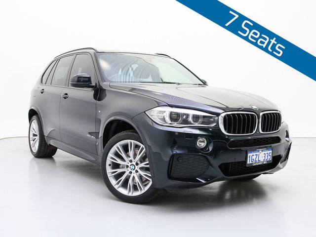 Used BMW X5 F15 MY15 xDrive 30D, 2015 BMW X5 F15 MY15 xDrive 30D Black 8 Speed Automatic Wagon